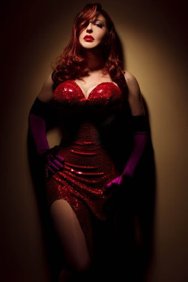 BelleChere as Jessica Rabbit