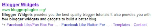 Meta description Tags displayed on Google