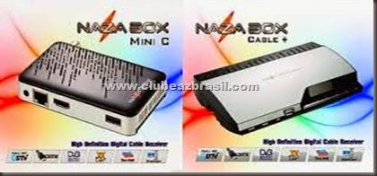 NAZABOX CABLE   E NAZABOX MINI C - NOVA ATUALIZAÇÃO - V 0728 - 29.07.2014