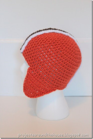 Crochet Football Helmet Hat Pattern Renewed Claimed Path