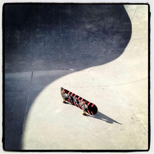 skateboard yin yang