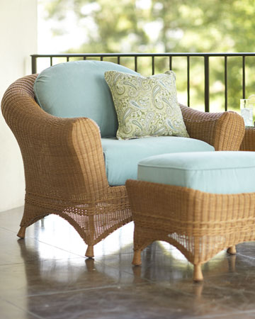 Rattan - Home Design with Kevin Sharkey on Martha Stewart Wicker id=12783