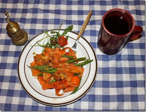 Karottenbandnudeln