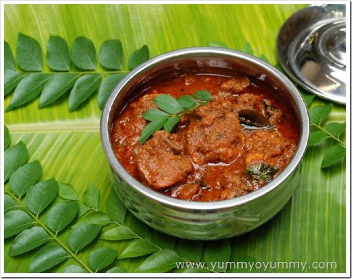 Nadan chicken curry