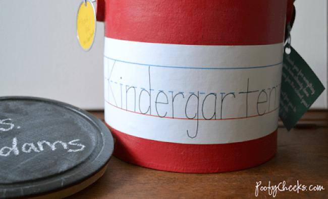 Teacher Treat Bucket