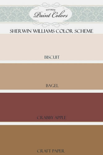 Favorite Paint Colors - Sherwin Williams color scheme