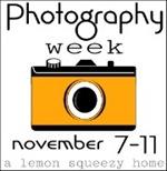 Photography Week Button, Orange 2