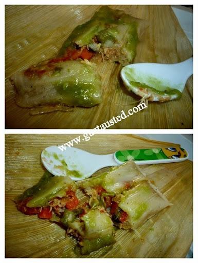 1-Tamales de pollo abue