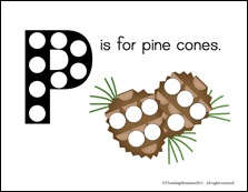 Pinecone Magnet Pages