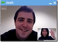 Google Plus video chat