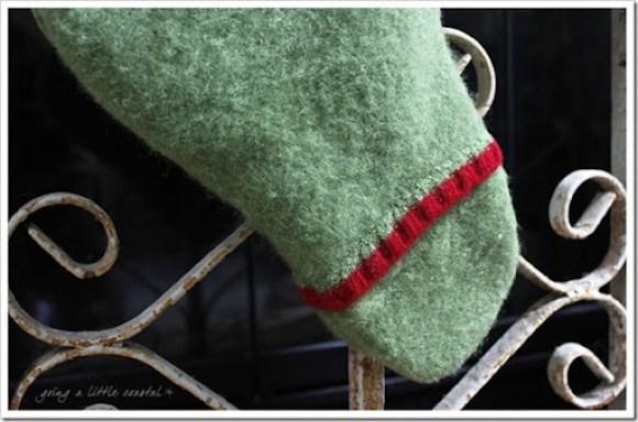 stocking toe