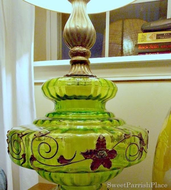Vintage Green Lamp5