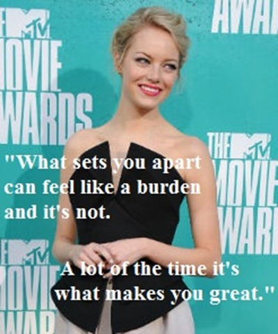 Emma Stone MTV Speech