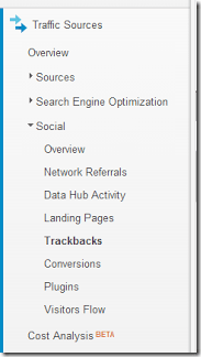 Track your backlinks by going social