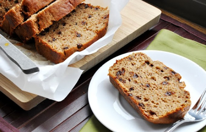 chocolate chip buttermilk banana bread 025