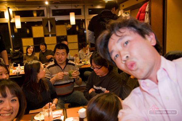 日本輕井澤居酒屋自拍
