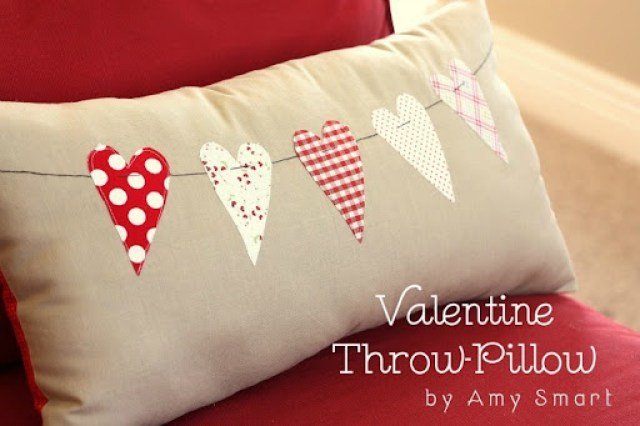 10 Valentine Pillows Vixenmade Parties