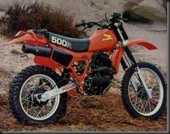 Honda XR500R 79  1