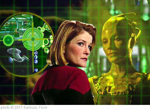 'Janeway & Borg Queen' photo (c) 2011, frankula - license: https://creativecommons.org/licenses/by/2.0/