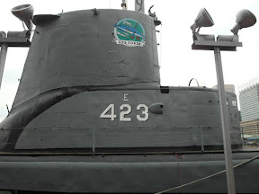WW II submarine