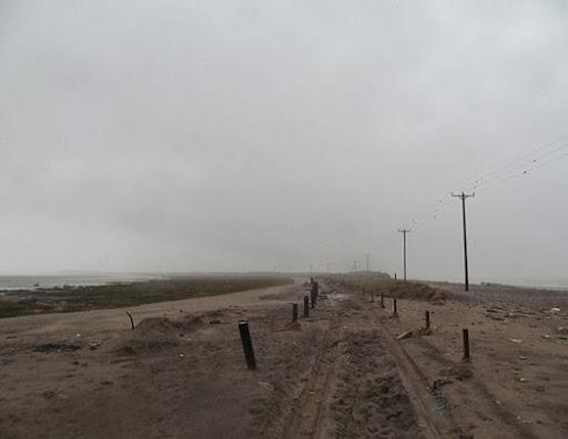 Spurn Point road breach