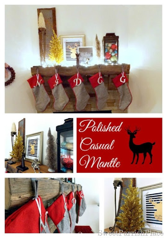 polished casual mantle