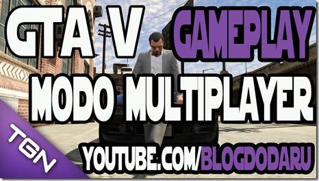 GTA V: Gameplay do Modo Multiplayer