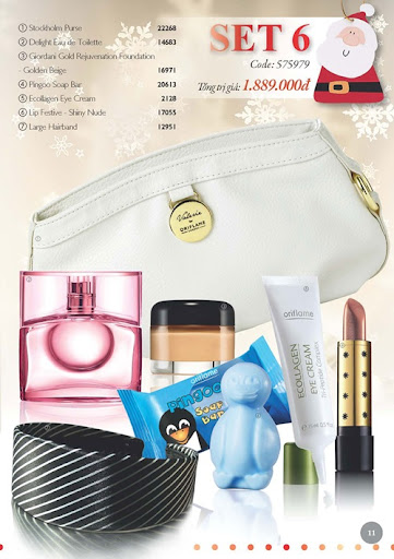 Oriflame-Giang-Sinh-2011-Flyer-11