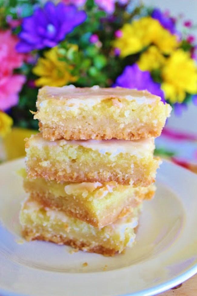 Sunburst Lemon Bars - Joyful Momma's Kitchen