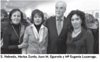 Sagrario Nebreda, Marisa Zurdo, Juan Manuel Egurrola, Mª Eugenia Luzarraga