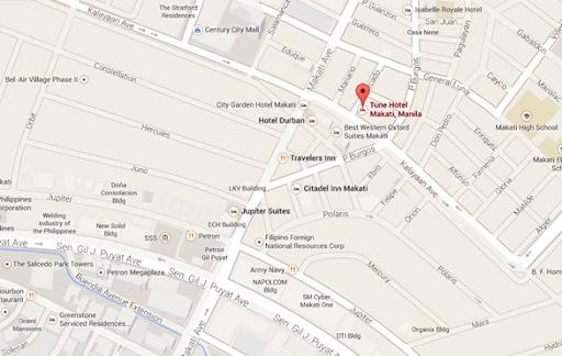 Tune Hotel Makati, Manila: Centrally-Located Value Hotel