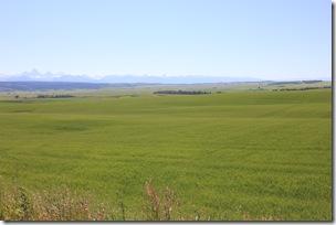 Eastern Idaho, in the shadows of the the Grand Tetons, near Ashton