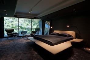 Habitacion-con-decoracion-y-diseño-futurista