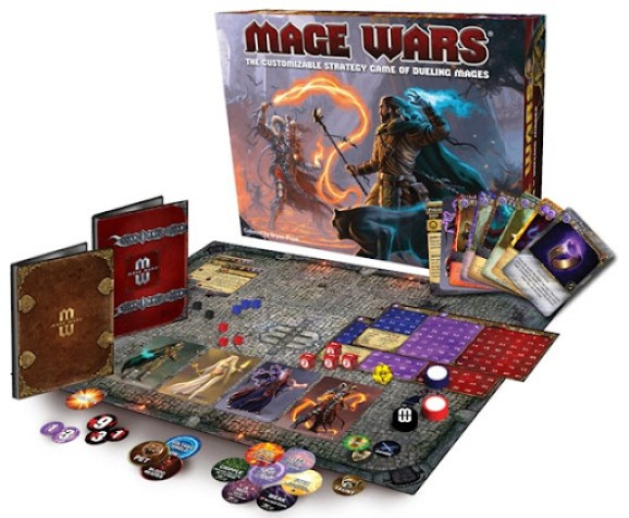 Mage Wars Displayed