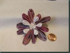 Kanzashi with three types of petals