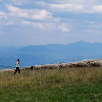 Piatra Mare (Bucegi mountains) with the Fuji X10