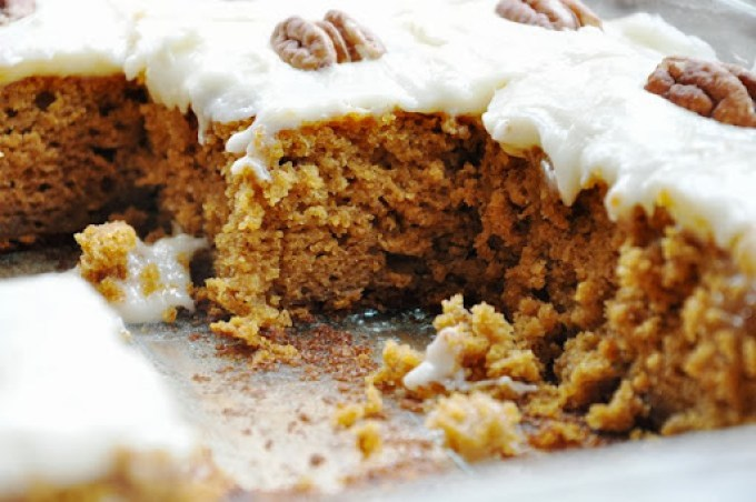 pumpkin cake bars reduced-fat 108
