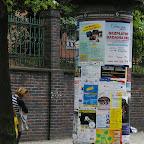 Poster pillar on Kasprowicza Street.
