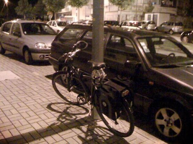 Estacionamento para bicicletas