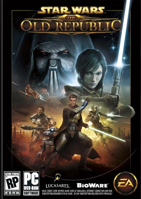 Star Wars The Old Republic Box Art