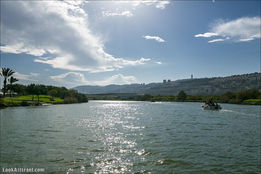 LookAtIsrael.com - Восстановление реки Кишон | Recovering Kishon river | שיחזור נחל קישון