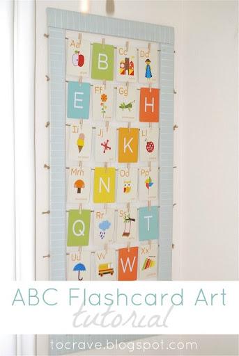 ABC Flashcard Art Tutorial by Kreyv
