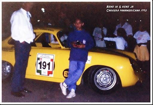 rene y papa pana 1992