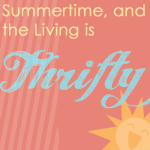 Summertime and the Living is Thrifty @ ON{thelaundry}LINE