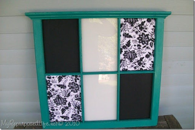 old window into memo board