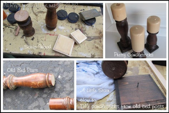 How to DIY Candlesticks