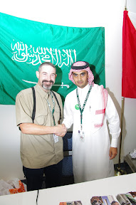 My section 1 mate, Turki from Saudi Arabia.