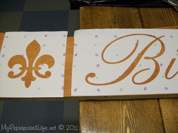 Stenciling with Silhouette SD