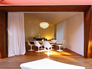 diseño de muebles Villa al Mare por Lanfranco Pollini