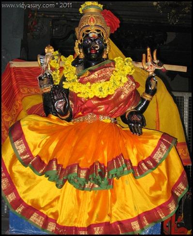 Vidya Sury temple Deity
